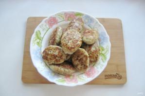Мясные котлеты с баклажанами - фото шаг 12
