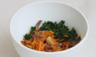 Скумбрия с овощами в фольге - фото шаг 3