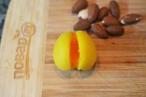 Абрикосовое варенье с орехами - фото шаг 2