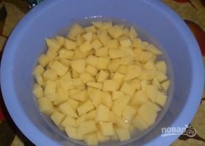 Суп из замороженных овощей - фото шаг 2