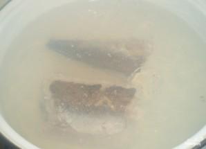Суп картофельный с рыбой - фото шаг 1