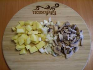 Щавелевый суп с грибами - фото шаг 2
