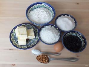 Кокосовое печенье с фруктовой начинкой - фото шаг 1