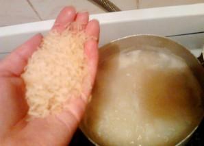 Тушеная рыба с рисом - фото шаг 5