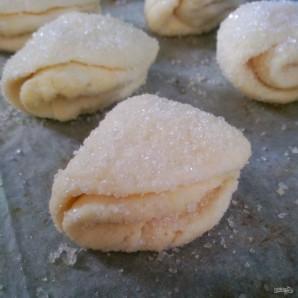 """Печенье """"Творожные конвертики"""" - фото шаг 8"""