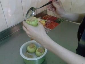 Запеченное яблоко с карамелью - фото шаг 4
