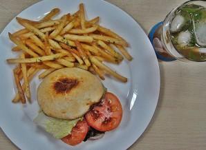 Американский бургер - фото шаг 6