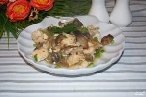 Филе индейки с грибами в духовке - фото шаг 6