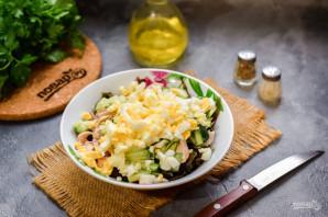 Салат с морской капустой - фото шаг 5