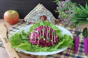 Финский салат из свеклы