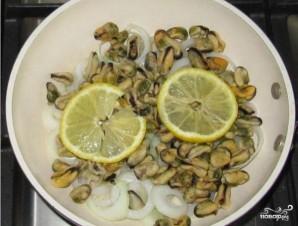 Мидии с лимоном - фото шаг 4
