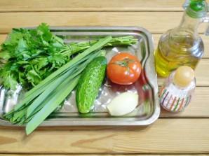 Салат к шашлыку - фото шаг 1