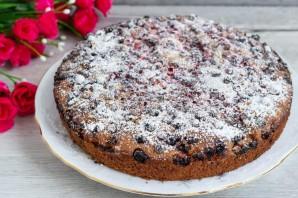 Постный пирог с клюквой - фото шаг 6