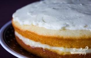 Вкусный торт с творожным кремом - фото шаг 9