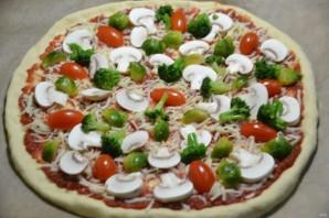 "Пицца ""Примавера"" - фото шаг 14"
