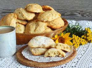 Банановое печенье со сгущенкой - фото шаг 8
