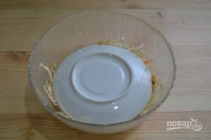 Салат из капусты с горячим маринадом - фото шаг 12