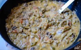 Тушеные овощи с сыром - фото шаг 8
