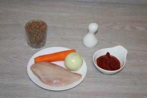 Гречка по-купечески с курицей - фото шаг 1