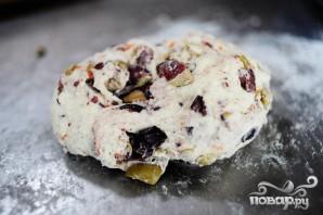 Фокачча с маслинами - фото шаг 4