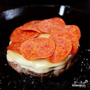 Пицца-бургер - фото шаг 5