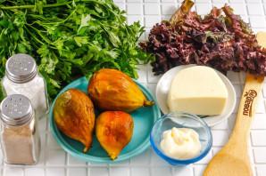 Салат с инжиром и моцареллой - фото шаг 1