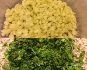 Зеленый перец в масле - фото шаг 2