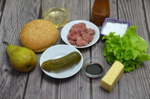 Сырный бургер - фото шаг 1
