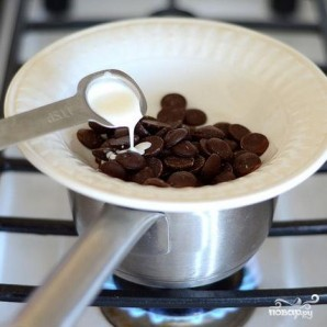 Клубничное мороженое с шоколадным печеньем - фото шаг 4