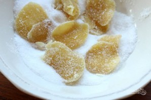 Имбирные цукаты - фото шаг 9