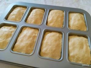 Кукурузный мини-хлеб с моцареллой - фото шаг 9