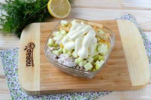 Салат из кукурузы и куриной грудки - фото шаг 3