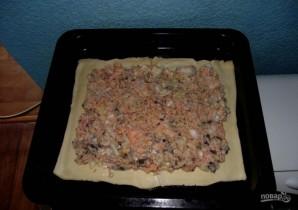 Простой пирог из семги - фото шаг 4