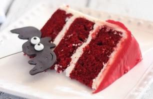 """Торт """"Вампир"""" на Хэллоуин - фото шаг 8"""