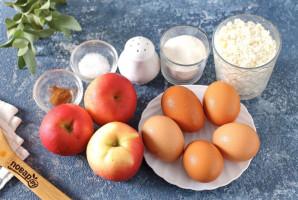 Низкоуглеводная шарлотка с яблоками - фото шаг 1