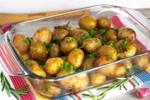 Печеная молодая картошка - фото шаг 7