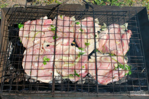 Свиной шницель на гриле - фото шаг 8