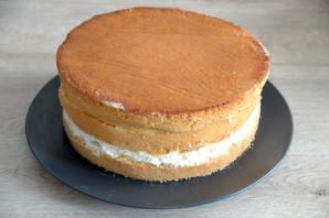 Бисквитный торт с вареной сгущенкой  - фото шаг 16