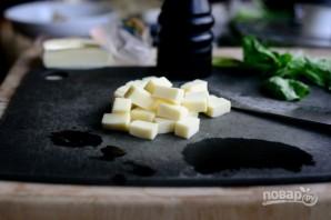 Фриттата из шпината и грибов - фото шаг 3