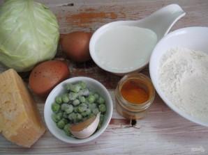 Легкий пирог из капусты  - фото шаг 1