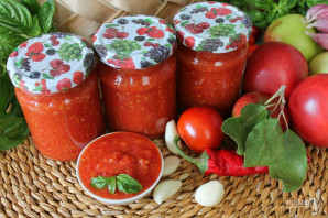 Томатно-яблочный соус на зиму - фото шаг 6