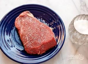 Тартар из говяжьего стейка - фото шаг 1