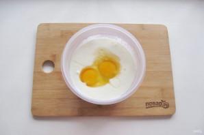 Домашний сыр из кефира и яиц - фото шаг 4
