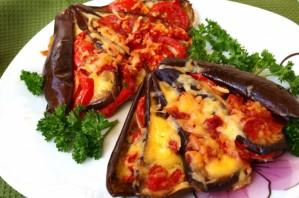Баклажаны, запеченные с сыром - фото шаг 5