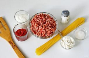 Осьминожки из фарша и спагетти - фото шаг 1