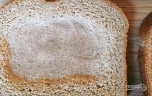 Яичница с хлебом (в духовке) - фото шаг 1