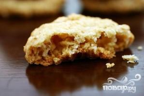 Овсяное печенье с белым шоколадом - фото шаг 4
