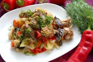 Свинина, тушеная с овощами - фото шаг 7