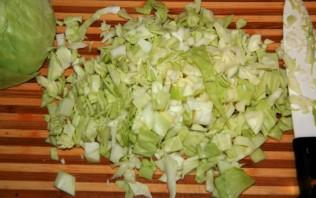Быстрый капустный пирог на кефире - фото шаг 1