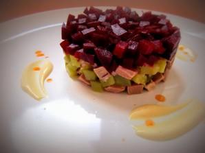 Салат с говядиной и свеклой - фото шаг 6